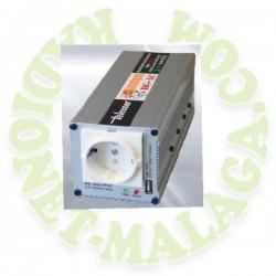 INVERSOR INTELIGENTE DE 12 Y 24 A 220v TELECOM SP-350-USB