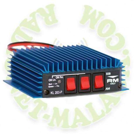 AMPLIFICADOR 27 Mhz CON PREVIO RM KL-203/P