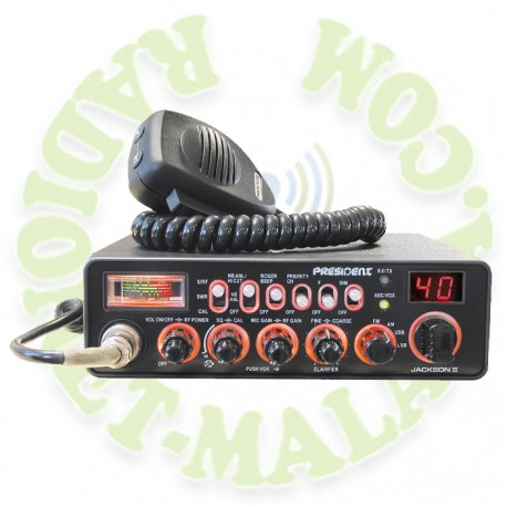 EMISORA 27 Mhz AM/FM/SSB PRESIDENT JACKSON II