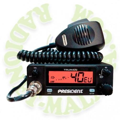 EMISORA 27 Mhz PRESIDENT TRUMAN