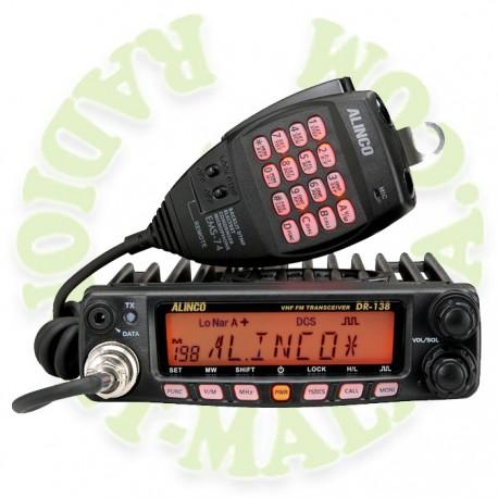 EMISORA MOVIL VHF ALINCO DR138