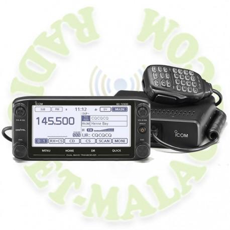 EMISORA DOBLE BANDA FRONTAL EXTRAIBLE ICOM ID-5100E