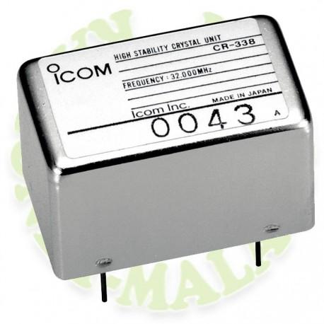 Cristal de alta estabilidad Icom CR338