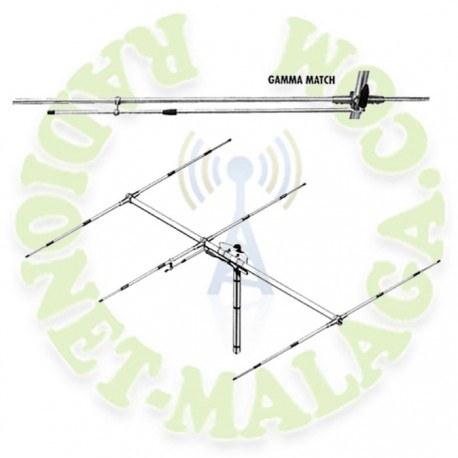 ANTENA BASE DIRECTIVA 27 Mhz SIRIO SY27-3