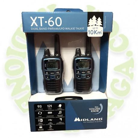 Pareja walkies MIDLAND XT60