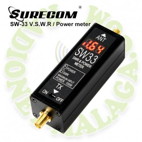 Medidor de estacionarias Surecom SW33