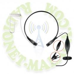 Laringofono semiprofesional NAUZER PLX15K