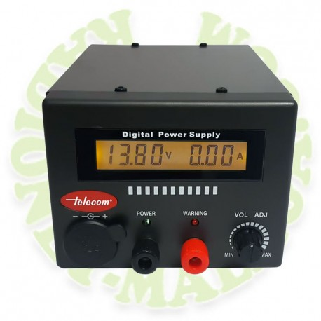 Fuente de alimentación digital 22-25 A AV-2025-D