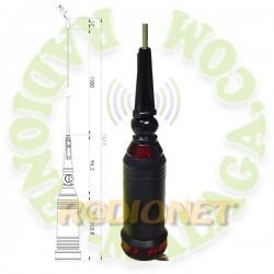 ANTENA MOVIL 27 Mhz TELECOM S-600