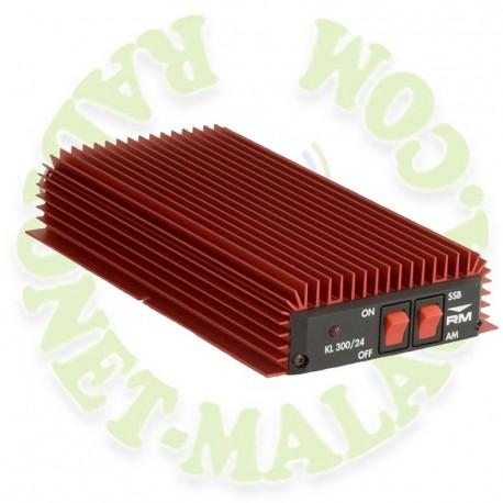 Amplificador lineal 27 Mhz RM KL300/24