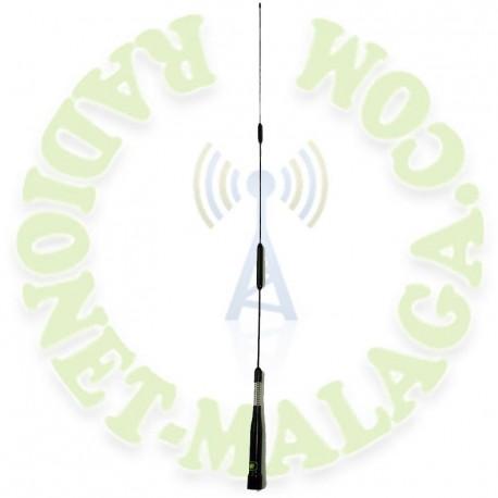 Antena bibanda con muelle Nagoya SP80B