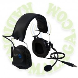 Casco diadema profesional para walkie CD-DF3