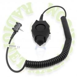 PTT grande y robusto para casco CAB-PTT-DF-3-VX351