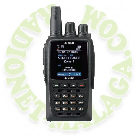 Portatil doble banda DMR Alinco DJMD5