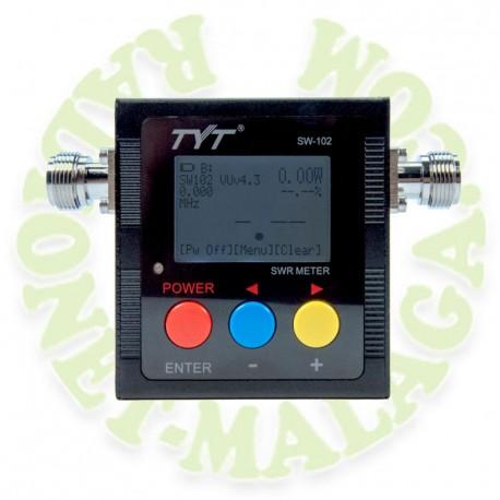Medidor SWR frecuencimetro TYT SW102