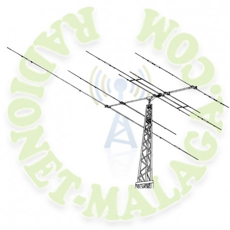 Antena directiva HF Hy-Gain Explorer14
