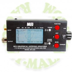 Analizador de antenas MFJ225