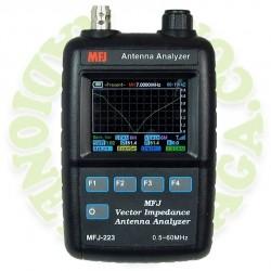 Analizador de antenas MFJ223