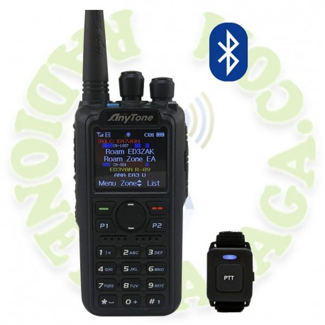 Portatil doble banda DMR Anytone AT-D878UV PLUS