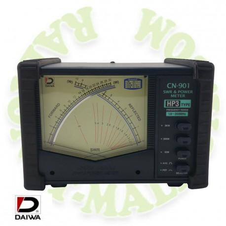 Medidor swr y watimetro DAIWA CN901HP3