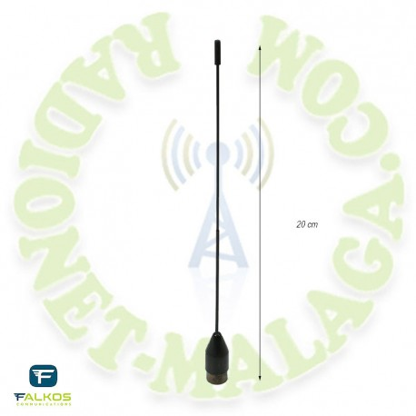 Antena SMA bibanda Falcos SRH519F