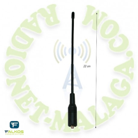 Antena SMA bibanda Falcos SRH701F