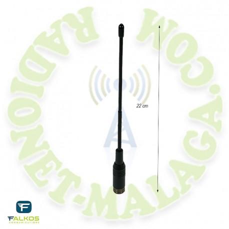 Antena SMA bibanda Falcos SRH-701-M