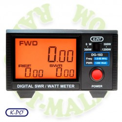 Medidor digital de SWR KPO DG103