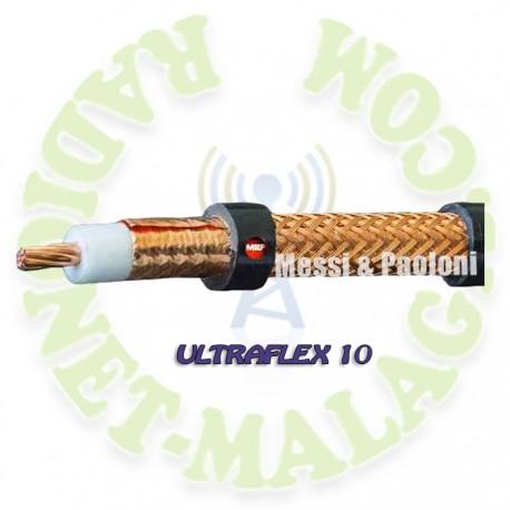 CABLE DE BAJAS PERDIDAS MESSI & PAOLONI ULTRAFLEX 10
