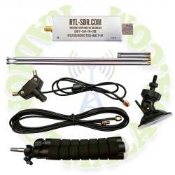 Receptor RTL-SDR Blog R820T2 RTL2832U + Antena.