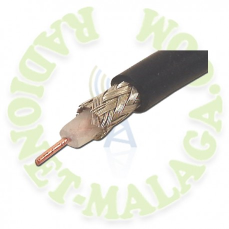 CABLE COAXIAL NEGRO RG-58