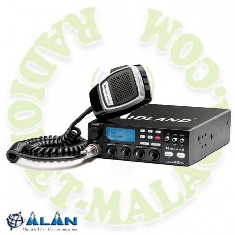 Emisora de 27 Mhz MIDLAND ALAN 48 PRO