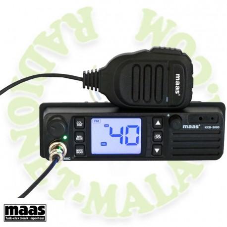 Emisora de 27 Mhz MASS KCB3000