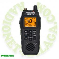 Portatil 27 Mhz AM/FM PRESIDENT RANDY III