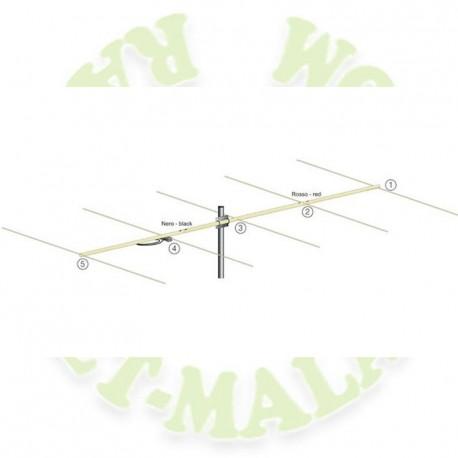 Antena para 70 Mhz.5 elementos 5JXX4