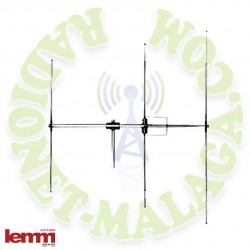 Antena 27 Mhz directiva LEMM AT63