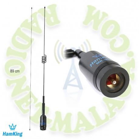 Antena 144/430 negra HANKING MK90B