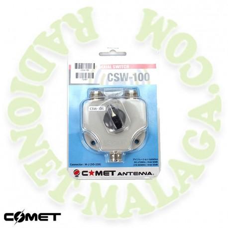Conmutador 2 antenas COMET CSW100