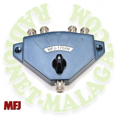 Conmutador 4 antenas MFJ1704N