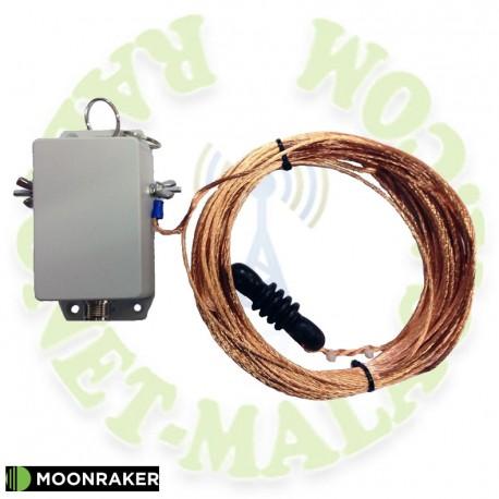 Antena de hilo 80 a 6 M. MOONRAKER LWHF80