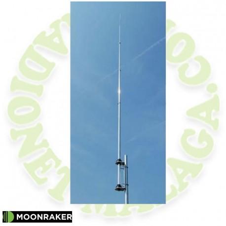 Antena vertical mulbandas HF MOONRAKER GPA80