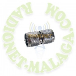 CONECTOR ADAPTADOR PL-MACHO DOBLE