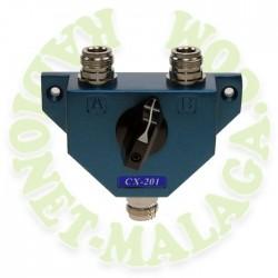 CONMUTADOR COAXIAL CON CONECTORES N CX-201NCX-201-N