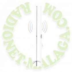 ANTENA TRIBANDA 144/430/1200 DIAMOND ORIGINAL X-6000