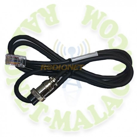 CABLE PARA MICRO DE BASE PRYME PMC-100 AV-24-KENWOOD