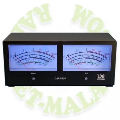 MEDIDOR ESPECIAL PAR ICOM IC-7800 LDG DM-7800