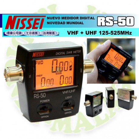 MEDIDOR DE SWR DIGITAL NISSEI RS-50