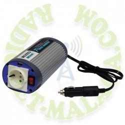 INVERSOR DE 12v A 220v TELECOM A-301/150-12