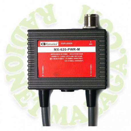 DUPLEXOR PARA VHF-UHF MX620PWRM