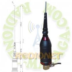 ANTENA MOVIL 27MHZ TELECOM S-1200